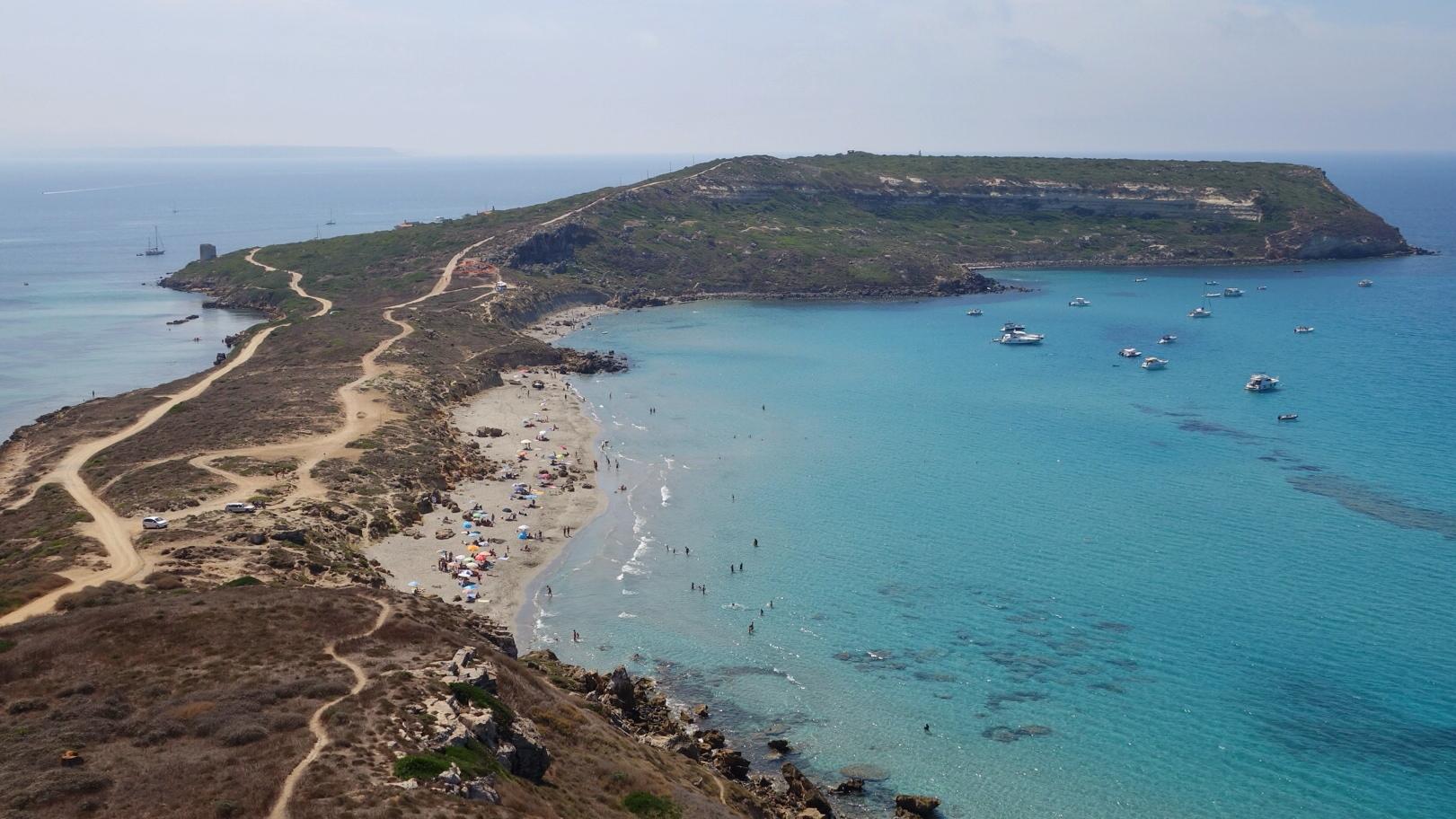 Spiaggia Sant giovanni Sinis 1
