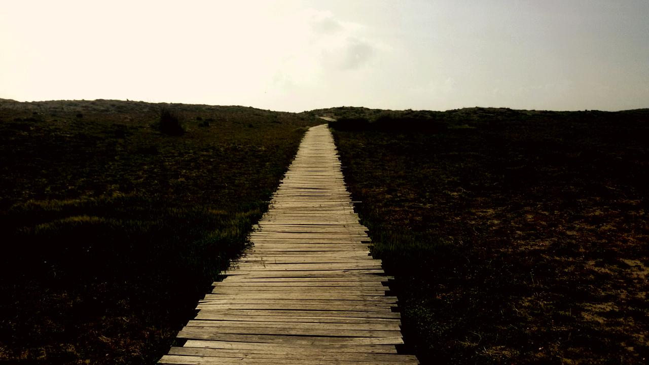 passerella spiaggia san giovanni di sinis